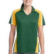 Ladies Tricolor Micropique Sport Wick®Polo